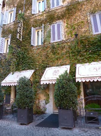 Hotel Dei Fiori Roma.Front Of Hotel Picture Of Boutique Hotel Campo De Fiori Rome