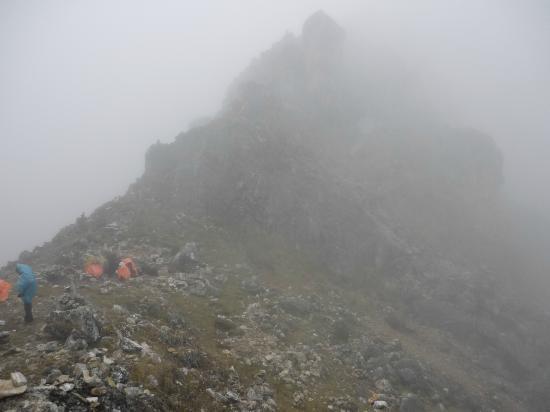 Junin, Peru: Vista del camino al nevado Huaytapallana