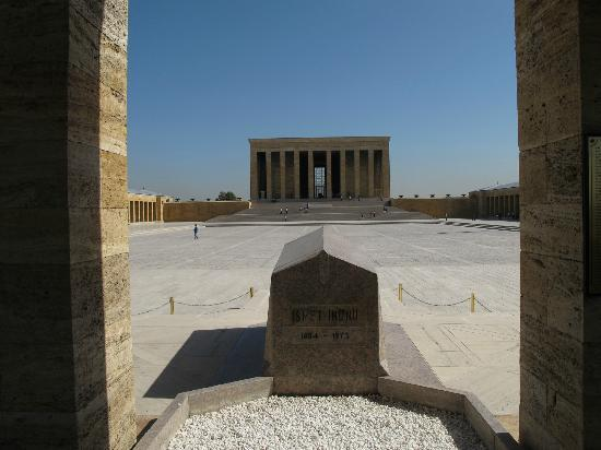 Atatürks Grab - Picture of Ataturk Mausoleum, Ankara ...