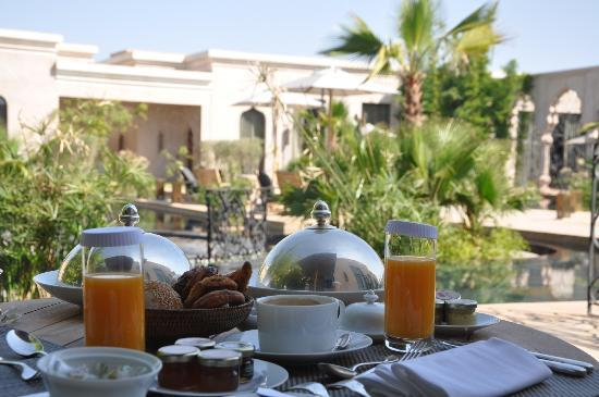 Palais Namaskar: Breakfast again