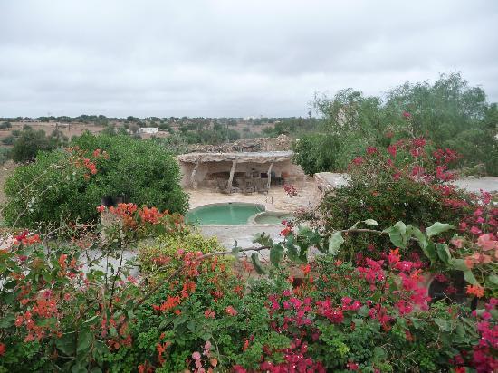 Tigmi Al Yom : vue de la terrasse