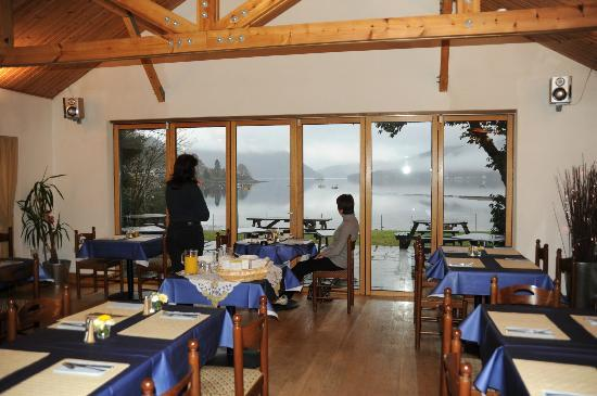 The Shore House: View from the restaurant