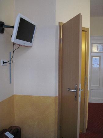 Hotel Garni Probst: tv area