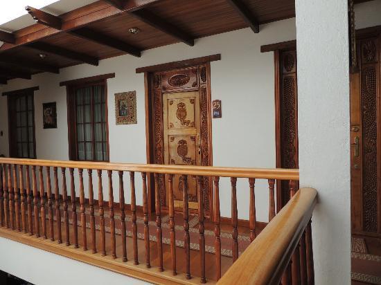 Hotel El Relicario del Carmen: Room Door