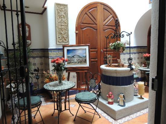 Hotel El Relicario del Carmen: Lobby