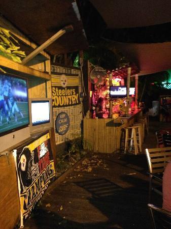 Cheeseburger Baby South Beach Tiki Bar W In Cheesburger