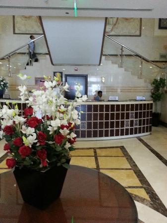 Al Eiman Taibah : Hotel reception
