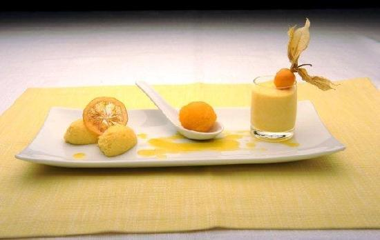 "Hotel Restaurant Kolb: Orangenvariation (Rezept aus unserem Kochbuch ""EREC'S  ESSKAPADEN"")"
