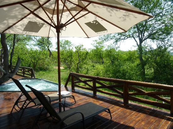 Naledi Game Lodges: View from our veranda at Bushcamp