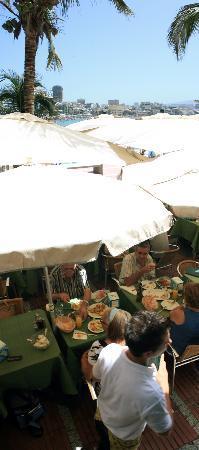 La Oliva Restaurant: La terraza