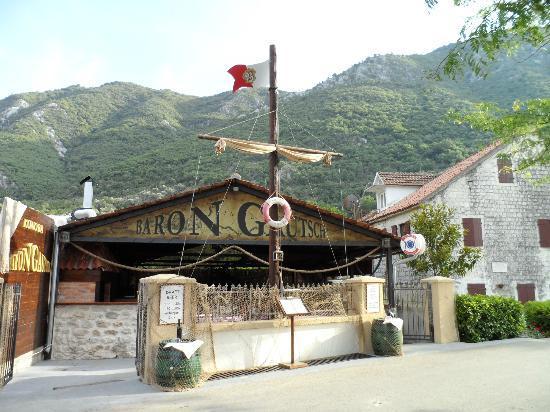 Donji Stoliv, Montenegro: Konoba BARON GAUTSCH