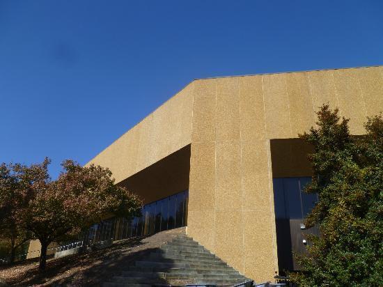 Dean E. Smith Center: Outside view of Arena