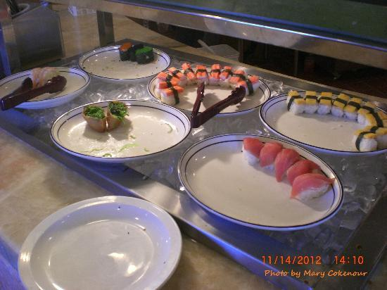 Wonderful Buffet: Sushi Bar