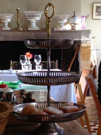 La Poudette: La salle de restaurant.
