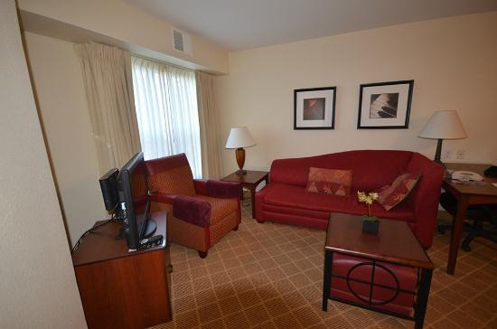 Residence Inn San Jose South/Morgan Hill: Salón suite