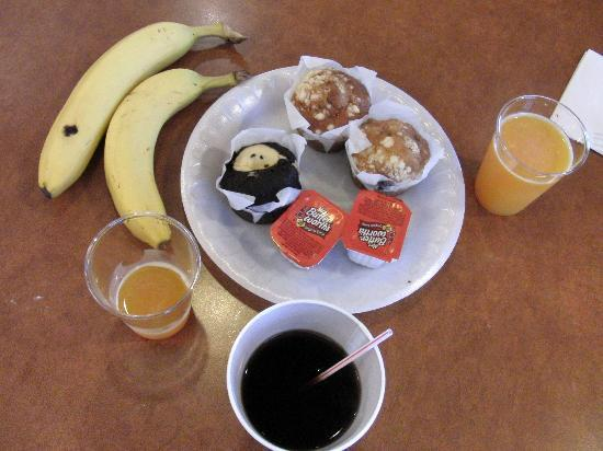 Residence Inn San Jose South/Morgan Hill: Desayuno