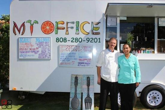 My Office: Chef - Owners Belia & Douglas