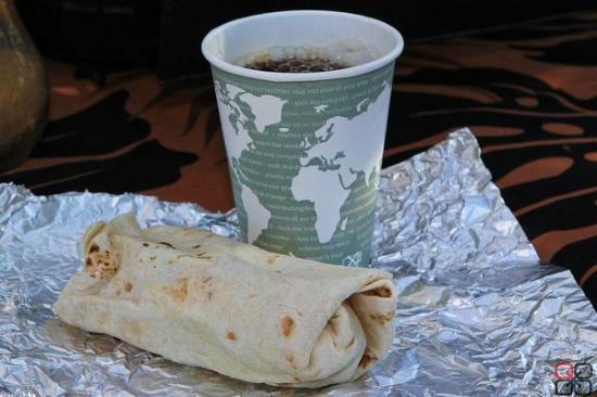 My Office: Breakfast Burrito & Maui Oma Coffee