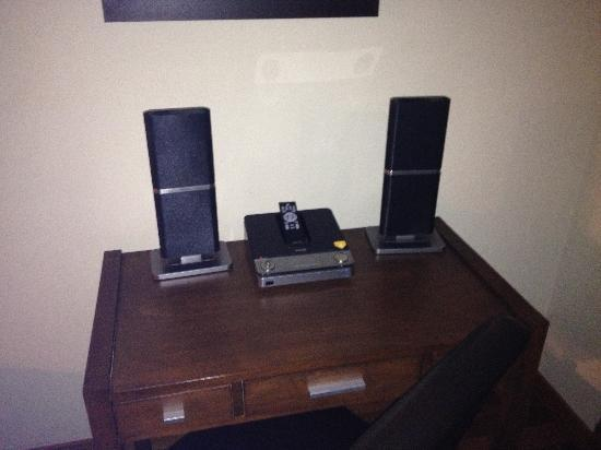 StoneRidge Mountain Resort: iPod dock