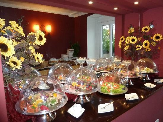 Hotel Harmonie: Frühstücksbuffet