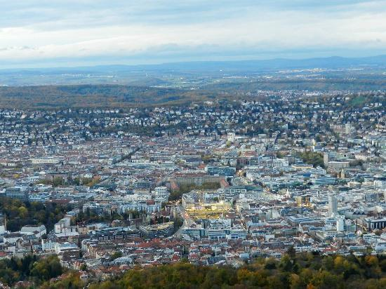 Television Tower (Fernsehturm): View of stuttgart from the TV tower