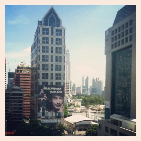 COMO Metropolitan Bangkok: The view from our room.