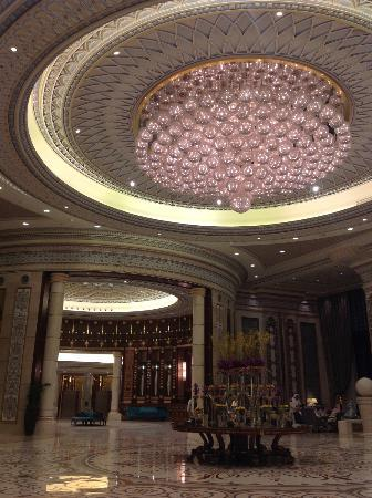 The Ritz-Carlton, Riyadh : loby view