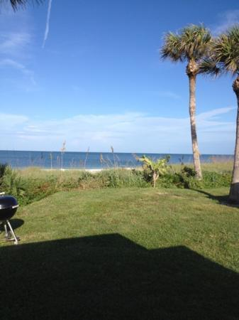 Gulfside Beach Club : view from the deck of Cottage #2