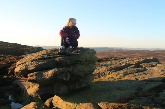 Stanage Edge: quick rest