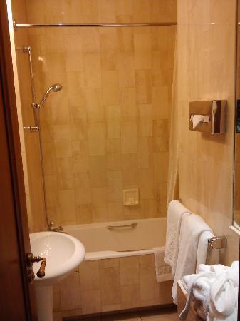Hotel Franklin D. Roosevelt: Ducha y lavatorio