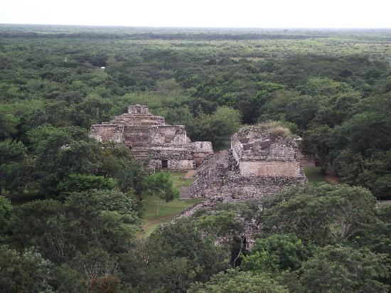 Manzano's Expeditions : View from the largest structure in Ek'Balam