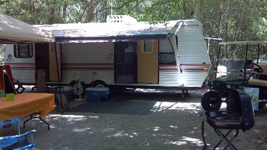 White Springs, FL: oyr campsite #30