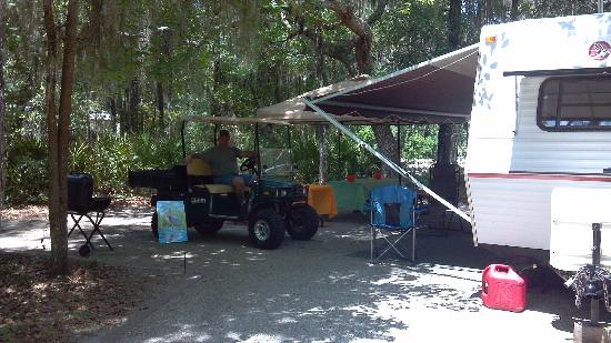 White Springs, FL: our campsite #30