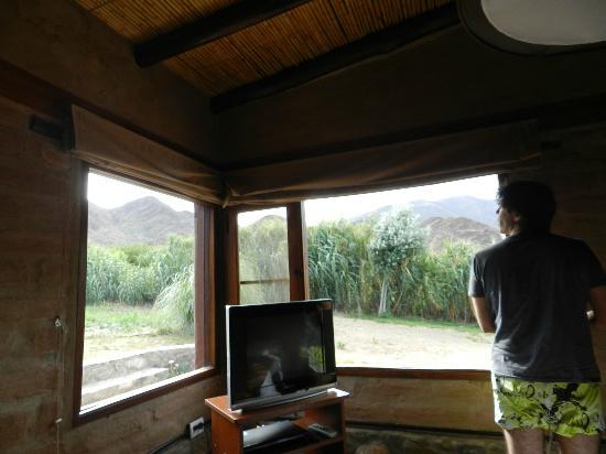 Miraluna Cabañas: vista habitacion