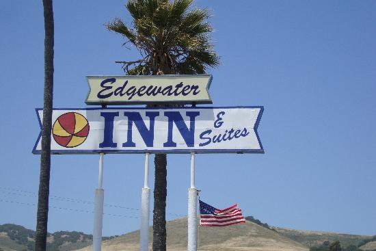 Edgewater Inn & Suites: Sign for Edgewater Inn