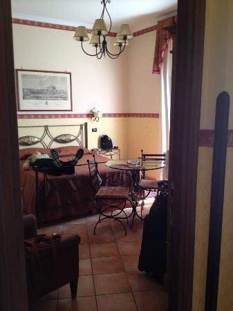 Pinto-Storey: The hotel room (occupied by a napping fellow traveler)