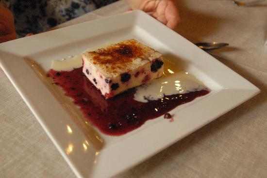La table des oliviers : Fruits gratin