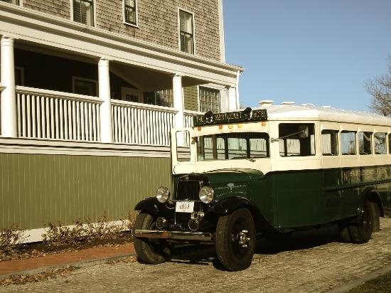 The Nantucket Hotel & Resort: Trolley for guests