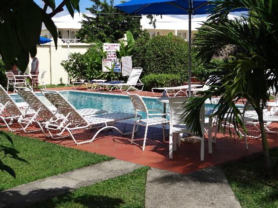Bay Gardens Hotel: the smaller pool, very private