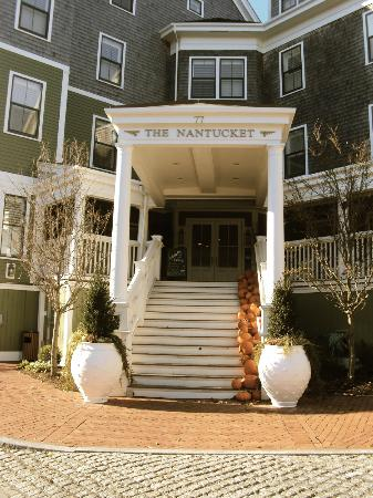 The Nantucket Hotel & Resort: Main enterance