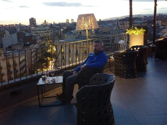 Majestic Hotel & Spa Barcelona: Rooftop Bar