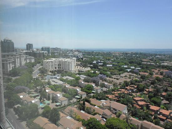 Radisson Blu Hotel Sandton, Johannesburg: Aussicht