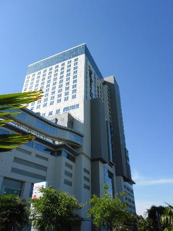 Radisson Blu Hotel Sandton, Johannesburg: Hotel von aussen