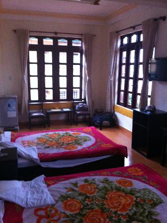 Villa Pink House: Twin double Bedroom