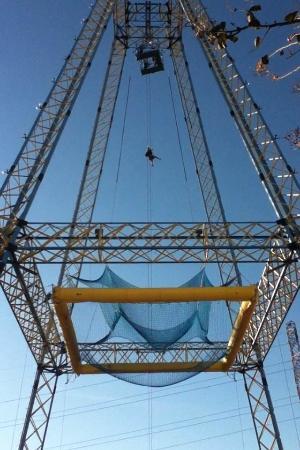 Zero Gravity Thrill Amusement Park: 'nothin' but net'