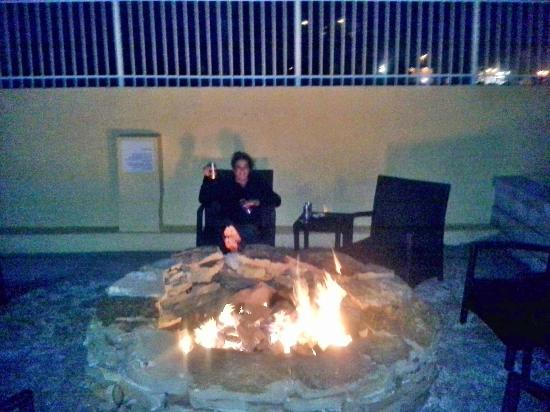 Holiday Inn Resort Daytona Beach Oceanfront: firepit