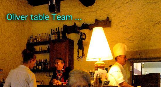 La table des oliviers : the master