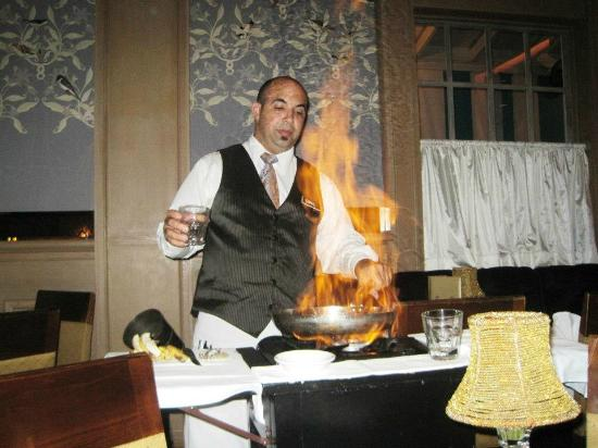 Commander's Palace: Banana's Foster Flambe tableside