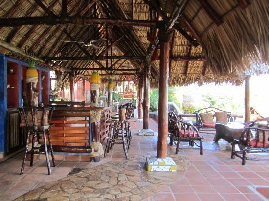 Hacienda Puerta Del Cielo Eco Spa: hang out area