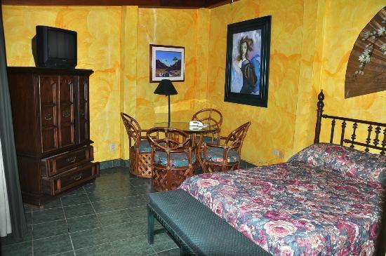 Hostal Real Bolonia : Detalle de habitacion